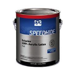 PPG Industries (6-653XI) Speedhide® Exterior 100% Acrylic Latex Flat...