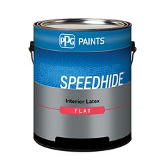 PPG Industries (6-70) Speedhide® Interior Latex Flat with White &...