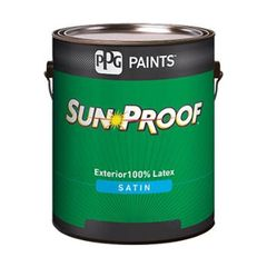 PPG Industries (76-110) Sun-Proof® Exterior House and Trim Satin...