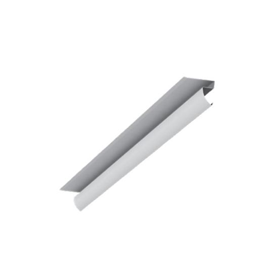 Quality Edge 12' Aluminum Recessed Crown Molding Terratone