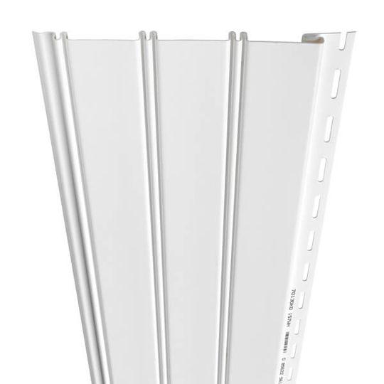 Variform By PlyGem Beaded Solid Vinyl Soffit & Porch Ceiling Sandy Tan