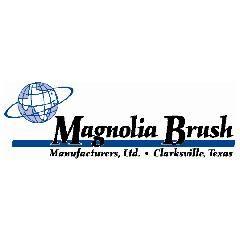 "Magnolia Brush 24"" Fiber Push Broom with Handle"