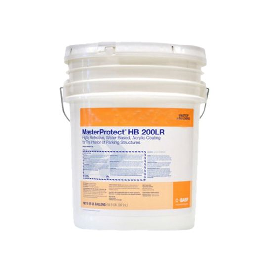 BASF MasterProtect® HB 200LR Coating for Interior of Parking Structures (Parkcoat) - 5 Gallon Pail