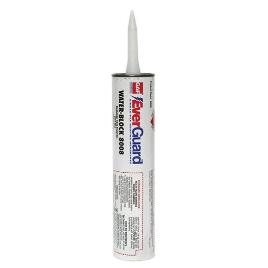 GAF EverGuard® WaterBlock Mastic 10.5 Oz. Cartridge Black