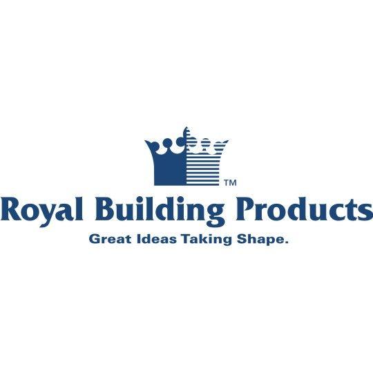"Royal Building Products 5/8"" x 12"" x 18' Premium PVC Trimboard"