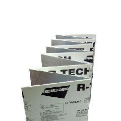 "InsulFoam 1/2"" x 4' x 50' R-TECH EPS Rigid Fanfold Insulation - 1.25 pcf..."