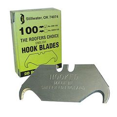 C&R Manufacturing Hook Blade - Pack of 100