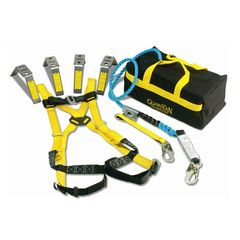Guardian Fall Protection Kit Harness 50' Rope