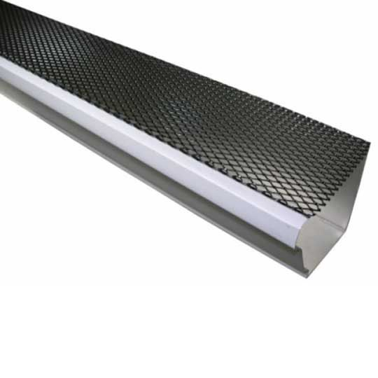 "Berger Building Products 6"" Lock-On Gutter Guard Black"