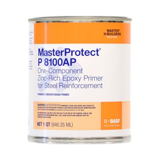 BASF MasterProtect® P 8100AP Primer for Steel Reinforcement - 1 Quart Can
