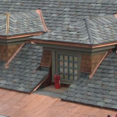 """Camara Slate Products 18"""" x 12"""" Vermont Roofing Slate - Sold Individually"""