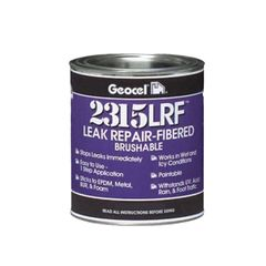 Geocel 2315 Leak Repair-Fibered Brushable Coating - 1 Pint Can