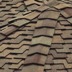 "CertainTeed Roofing 10"" Mountain Ridge® Solaris® Hip & Ridge..."