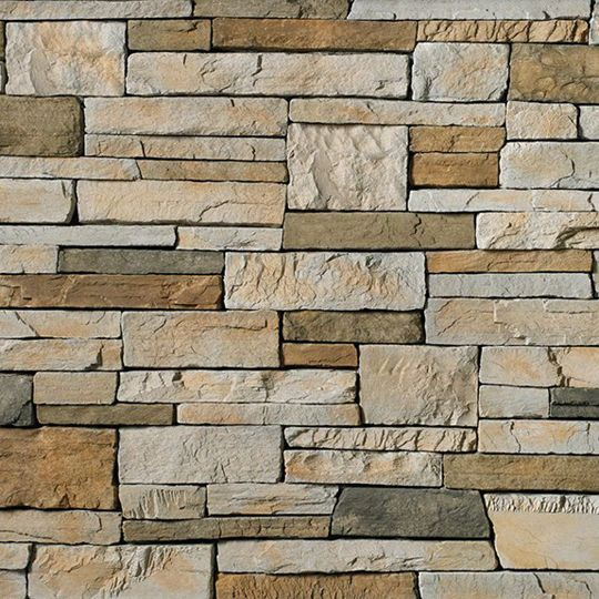 Cultured Stone Country Ledgestone Big Box Corner White Oak