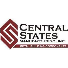 "Central States Manufacturing 26 Gauge x 10'2"" Horizon-Loc Open Hem Flat..."