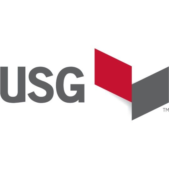 "U.S. Gypsum 4' x 1-1/2"" Cross Tee DX/DXL Fire Rated White"