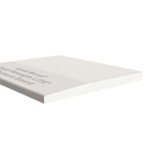 "National Gypsum 1/2"" x 54"" x 12' Gold Bond® High Strength LITE® Gypsum Board"