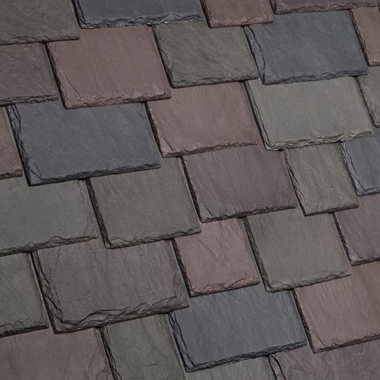 Davinci Roofscapes Multi-Width Slate Weathered Green Blend