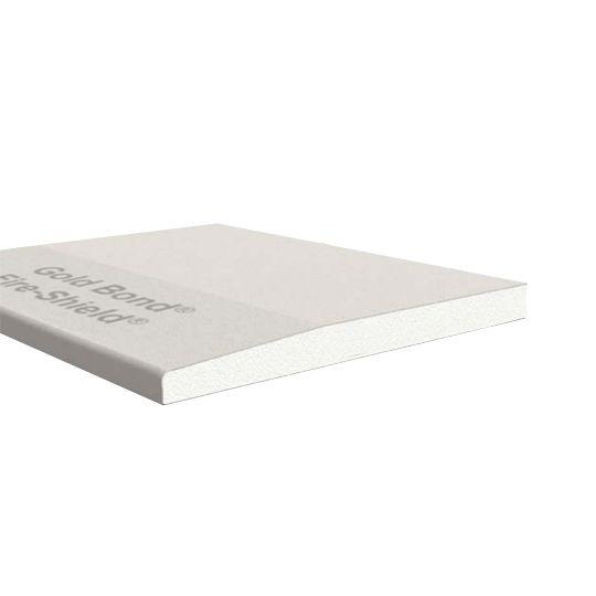 "National Gypsum 5/8"" x 4' x 12' Gold Bond® Fire-Shield® Tapered Edge Gypsum Board"