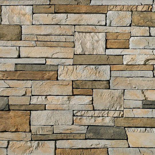 Cultured Stone Country Ledgestone Handipack Flat Shale