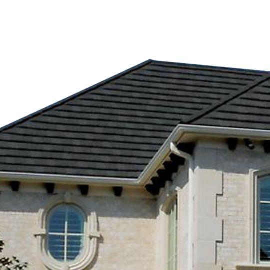 """Decra Roofing Systems 14-5/8"""" Shake Mist Grey"""