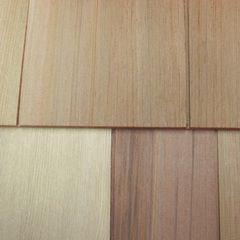 "Shakertown Cedar Shingles 7"" x 8' Craftsman 1-Course Shingle Panel..."