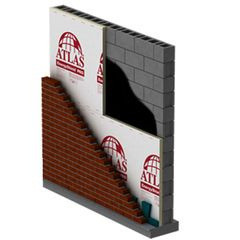 "Atlas Roofing 1"" Exterior Wall Insulation Foil"