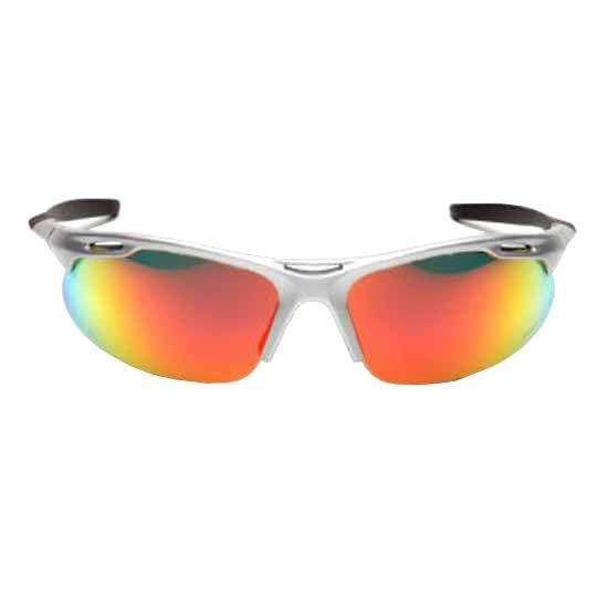 C&R Manufacturing Avante Safety Glasses Silver Frame/Ice Orange Lens