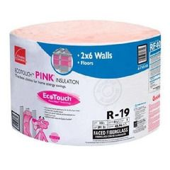 "Owens Corning 6-1/4"" x 23"" x 39'2"" R-19 RF41 EcoTouch® PINK®..."