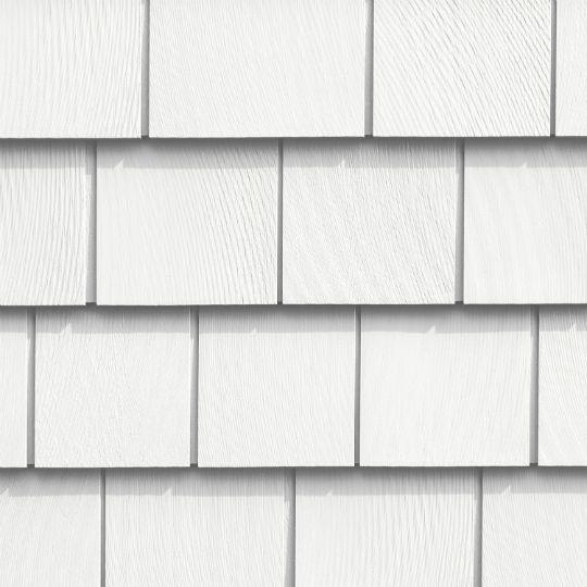 "CertainTeed Vinyl Building Products Cedar Impressions® Triple 5"" Straight Edge Sawmill Polymer Shingle Siding Hearthstone"