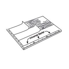 PABCO Roofing Products Universal Starter Shingles - 105 Lin. Ft. Bundle