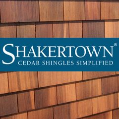 Shakertown Cedar Shingles Cedar #1 5 x 16 Sidewall Shingle