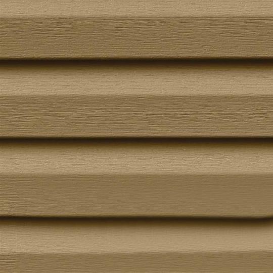 "Exterior Portfolio 16' Premium Pointe® Double 4.5"" Dutchlap Siding Panels Driftwood"