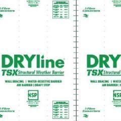 """Fibre Converters 1/8"""" x 4' x 9' DRYline® TSX Green-Grade Structural..."""
