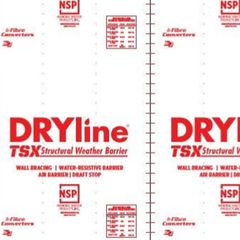 "Fibre Converters 1/8"" x 4' x 9' DRYline® TSX Red-Grade Structural..."