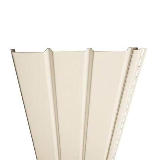 "Exterior Portfolio Triple 4"" Air Flo Solid Soffit Rye"