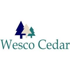 "Wesco Cedar 24"" #2 Medium Sel Tapersawn H&R"