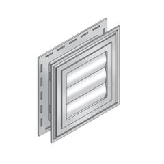 Royal Building Products B-Vent Exhaust Vent with Metal Tube