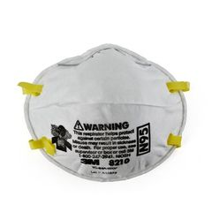 3M 8210 Particulate Respirator with Dual Strap - Box of 20