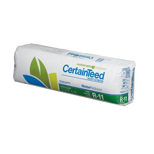 "Certainteed - Insulation 3-1/2"" x 48"" x 70' 6"" Sustainable R-11 Unfaced Roll - 282 Sq. Ft. Bag"