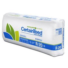 """Certainteed - Insulation 5-1/2"""" x 15-1/4"""" x 93"""" Sustainable R-20 Unfaced..."""