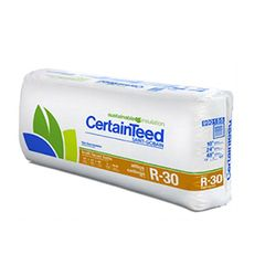 """Certainteed - Insulation 10"""" x 24"""" x 48"""" Sustainable R-30 Unfaced Batts..."""