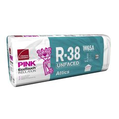 "Owens Corning 24"" x 48"" R-38 W65 EcoTouch® PINK®..."