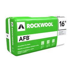 "Rockwool 5"" x 16"" x 4' AFB® - 32 Sq. Ft. Bag"
