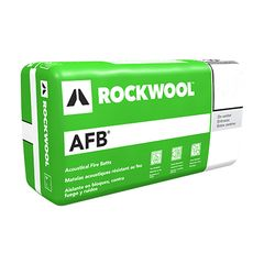 "Rockwool 3"" x 15"" x 4' AFB® - 60 Sq. Ft. Bag"