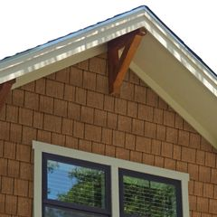 """Allura 1/4"""" x 12"""" x 12' Smooth Non-Vented Soffit"""