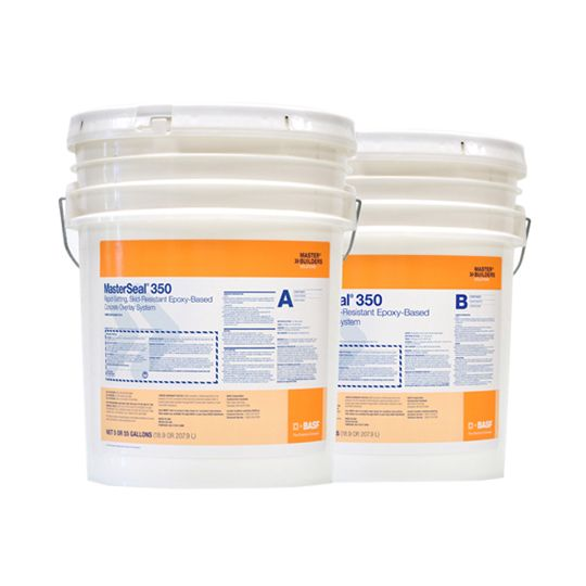BASF MasterSeal® 350 Concrete Overlay System - 110 Gallon Kit