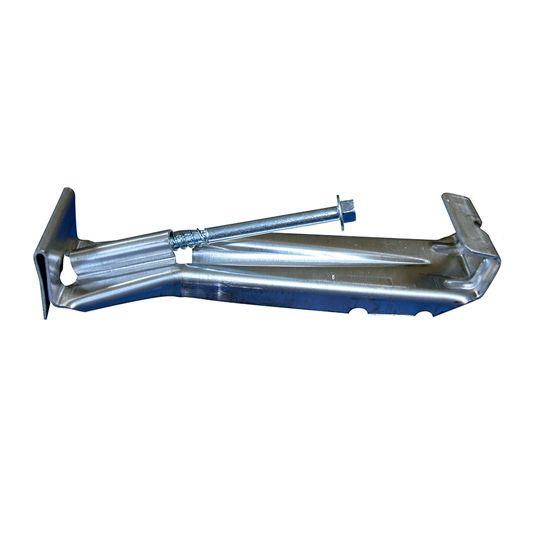 """US Aluminum 5"""" Hidden Hanger with Screw"""