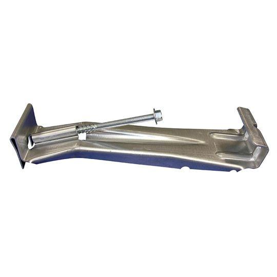 """US Aluminum 6"""" Hidden Hanger with Screw"""