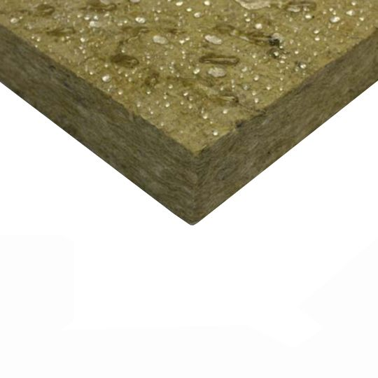 "Owens Corning 4"" x 24"" x 48"" Thermafiber® RainBarrier® 45 Continuous Mineral Wool Insulation"